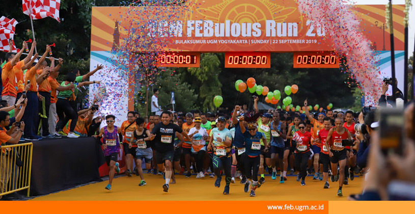 UGM FEBoulus Run 2019