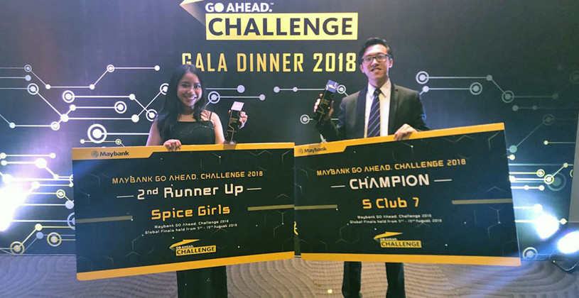 Champion Maybank Go Ahead. Challenge 2018